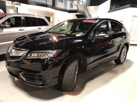 2017 Acura RDX for sale at PALM BEACH AUTO SALES OUTLET in West Palm Beach FL