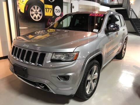 2014 Jeep Grand Cherokee Overland for sale at PALM BEACH AUTO SALES OUTLET in West Palm Beach FL