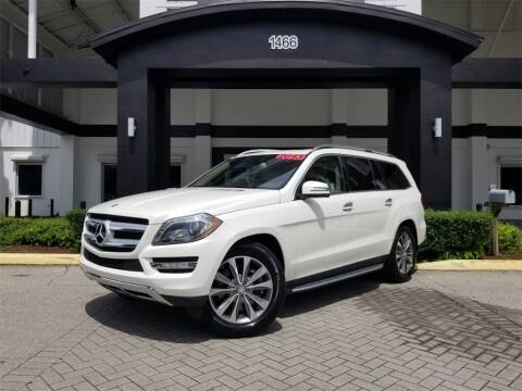 2013 Mercedes-Benz GL-Class GL 450 4MATIC for sale at PALM BEACH AUTO SALES OUTLET in West Palm Beach FL