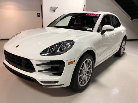 2017 Porsche Macan Turbo for sale at PALM BEACH AUTO SALES OUTLET in West Palm Beach FL