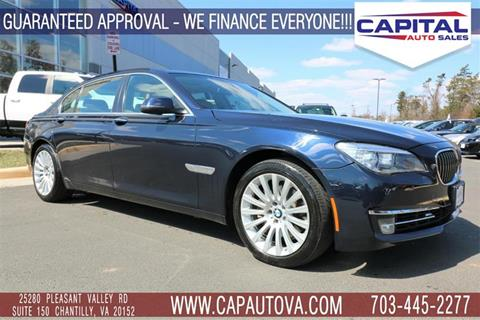 2013 BMW 7 Series for sale in Chantilly, VA