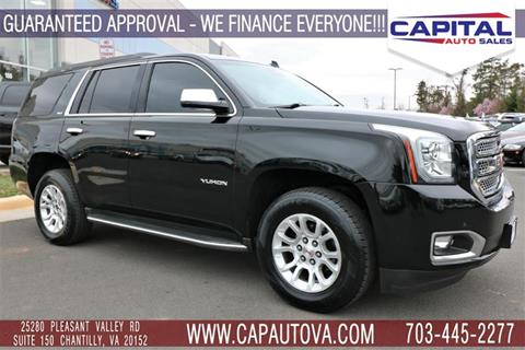 2015 GMC Yukon for sale in Chantilly, VA