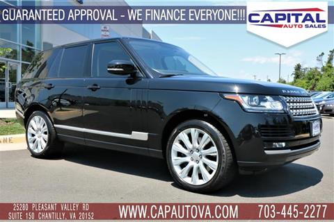 2014 Land Rover Range Rover for sale in Chantilly, VA
