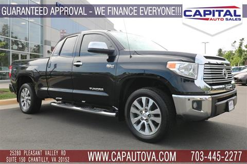 2016 Toyota Tundra for sale in Chantilly, VA