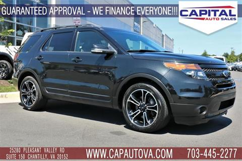 2015 Ford Explorer for sale in Chantilly, VA