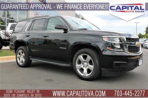 2016 Chevrolet Tahoe for sale in Chantilly, VA