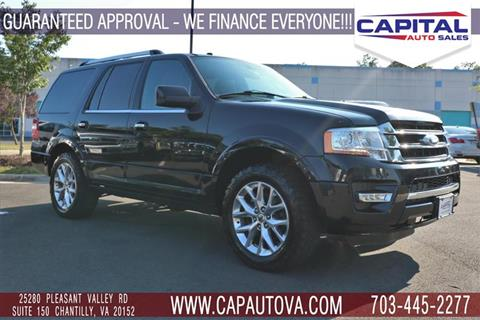 2017 Ford Expedition for sale in Chantilly, VA
