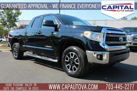 2015 Toyota Tundra for sale in Chantilly, VA