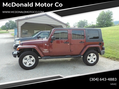 2007 Jeep Wrangler Unlimited for sale in Harrisville, WV
