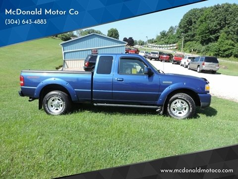 2011 Ford Ranger for sale in Harrisville, WV