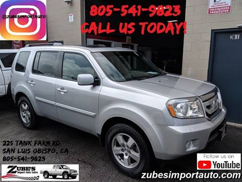 2011 Honda Pilot for sale in San Luis Obispo, CA
