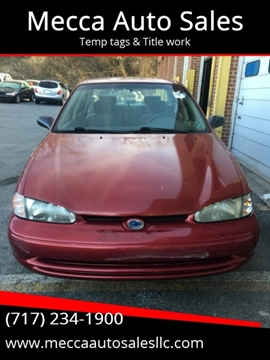 2001 Chevrolet Prizm for sale in Harrisburg, PA