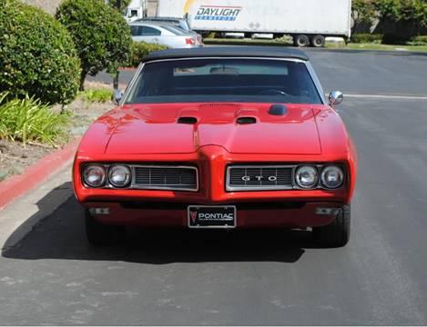 1968 Pontiac GTO for sale in Costa Mesa, CA