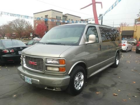 2002 GMC Savana Passenger for sale in Salem, OR