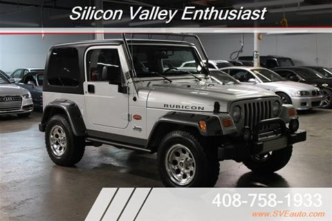 2003 Jeep Wrangler for sale in Mountain View, CA