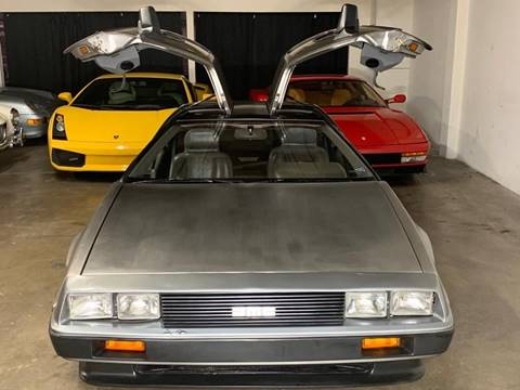 1981 DeLorean DMC-12 for sale in Orange, CA