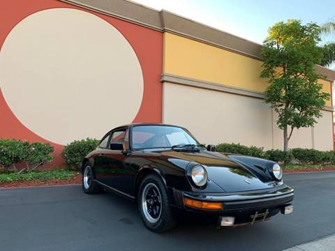 1983 Porsche 911 for sale in Orange, CA