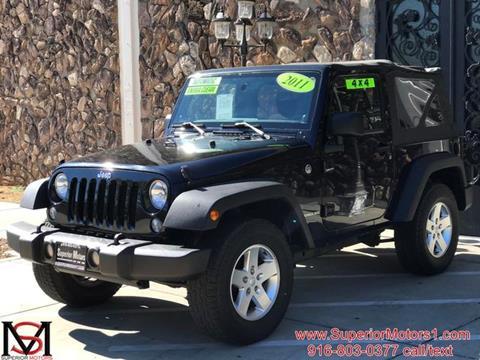 2011 Jeep Wrangler for sale in Sacramento, CA