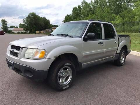 2004 Ford Explorer Sport Trac for sale at Angies Auto Sales LLC in Newport MN