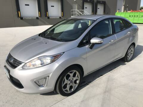 2012 Ford Fiesta for sale at Angies Auto Sales LLC in Newport MN