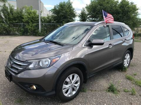 2013 Honda CR-V for sale at Angies Auto Sales LLC in Newport MN