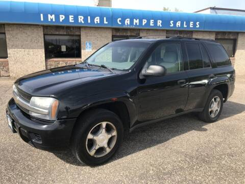 2008 Chevrolet TrailBlazer for sale at Angies Auto Sales LLC in Newport MN