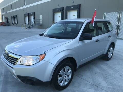 2009 Subaru Forester for sale at Angies Auto Sales LLC in Newport MN