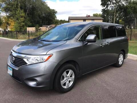2015 Nissan Quest for sale at Angies Auto Sales LLC in Newport MN