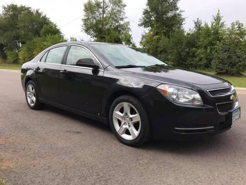 2009 Chevrolet Malibu for sale at Angies Auto Sales LLC in Newport MN