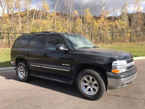 2003 Chevrolet Tahoe for sale at Angies Auto Sales LLC in Newport MN