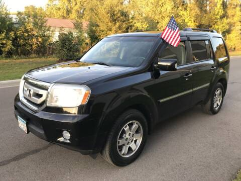 2009 Honda Pilot for sale at Angies Auto Sales LLC in Newport MN