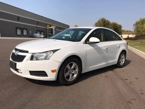 2013 Chevrolet Cruze for sale at Angies Auto Sales LLC in Newport MN