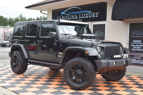 Used Jeep Wrangler For Sale Nc >> 2014 Jeep Wrangler Unlimited For Sale In Denver Nc