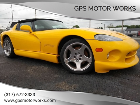 Used Dodge Viper For Sale In Indiana Carsforsalecom