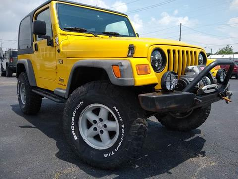 2004 Jeep Wrangler for sale in Indianapolis, IN