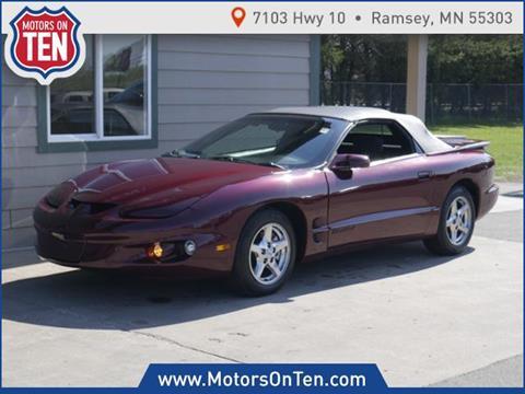 2001 Pontiac Firebird for sale in Ramsey, MN