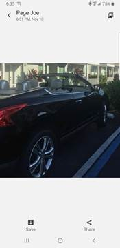2011 Nissan Murano CrossCabriolet for sale in Niagara Falls, NY