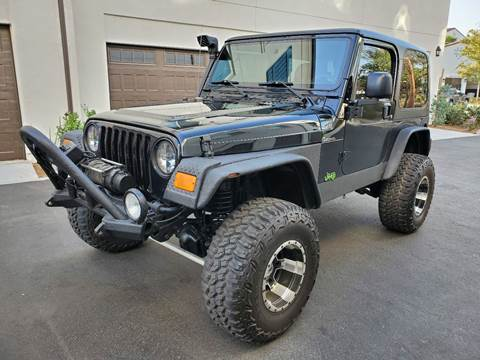 2004 Jeep Wrangler for sale in El Monte, CA