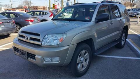 2004 Toyota 4Runner for sale at Millennium Auto Group in Lodi NJ