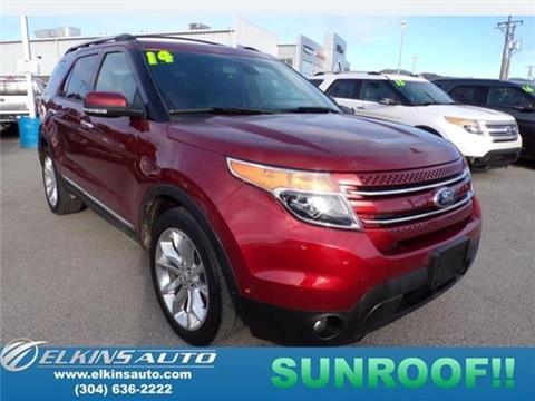 2014 Ford Explorer for sale in Elkins, WV