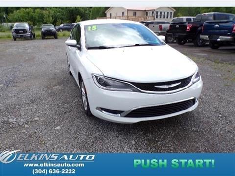 2015 Chrysler 200 for sale in Elkins, WV