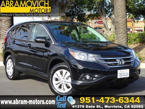 2013 Honda CR-V for sale in Murrieta, CA