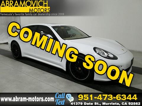 2016 Porsche Panamera for sale in Murrieta, CA