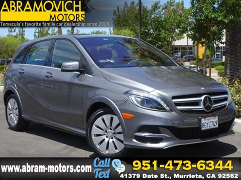 2016 Mercedes-Benz B-Class for sale in Murrieta, CA