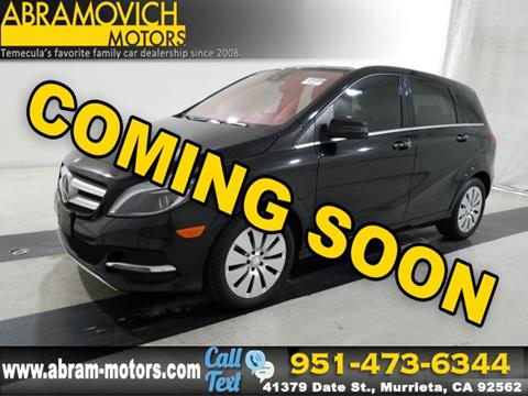 2015 Mercedes-Benz B-Class for sale in Murrieta, CA