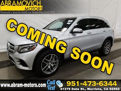 2017 Mercedes-Benz GLC for sale in Murrieta, CA