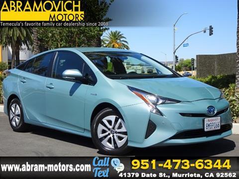 2018 Toyota Prius for sale in Murrieta, CA