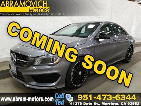 2016 Mercedes-Benz CLA for sale in Murrieta, CA
