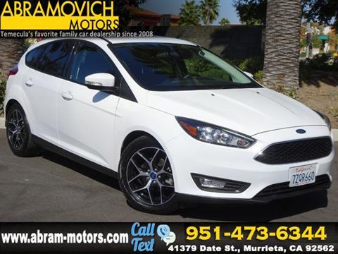2017 Ford Focus for sale in Murrieta, CA