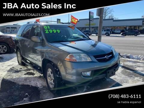 2001 Acura MDX Touring for sale at JBA Auto Sales Inc in Stone Park IL